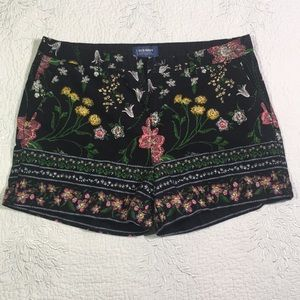 Every day shorts by Old Navy with floral design